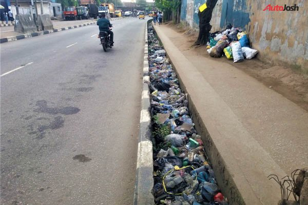 Open And Dirty Drainage in Lagos