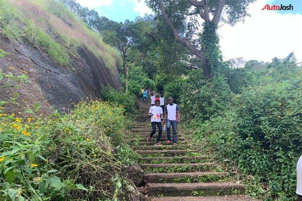 Idanre Hill Climbing