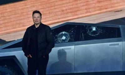Tesla-Cybertruck-Pickup-Truck-Armoured-Unbreakable-Windows-Shatters