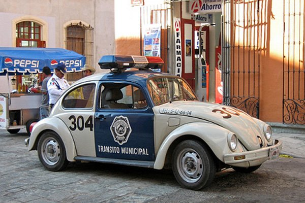 Unusual Police Cars