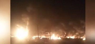 Sango-Toll Gate Tanker Fire