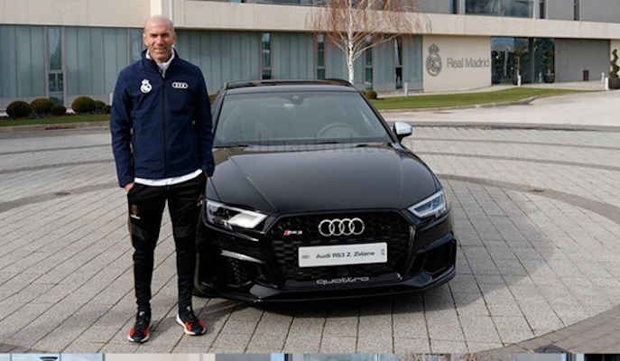 Real Madrid Squad Receive Exotic Cars To Celebrate Christmas (Photos) Zidane