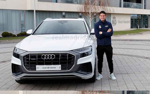 Real Madrid Squad Receive Exotic Cars To Celebrate Christmas (Photos)
