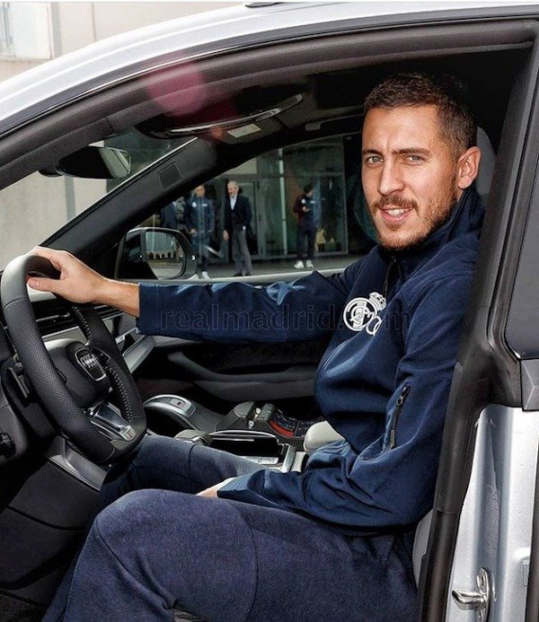Real Madrid Squad Received Exotic Cars To Celebrate Christmas (Photos) Eden Hazard