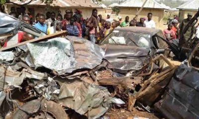 28 People Die, 10 Cows Survive As Two Vehicles Collide In Bauchi