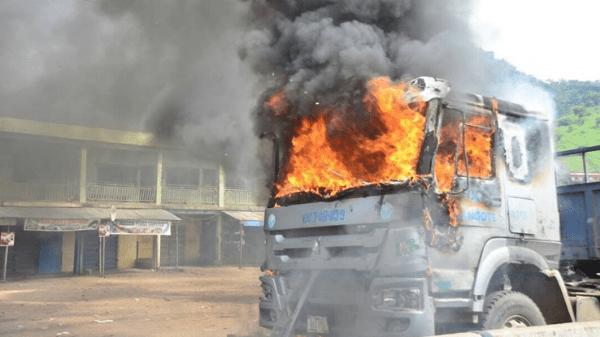 Dangote-cement-trucks-set-ablaze