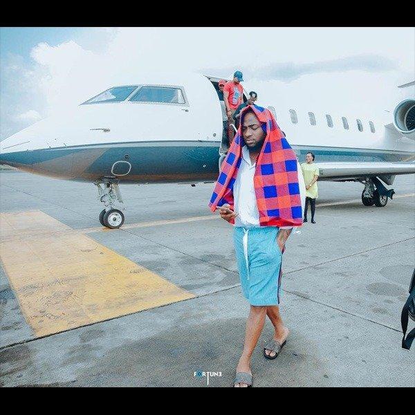 Davido: Checkout His Amazing Private Jet Lifestyle (PHOTOS)