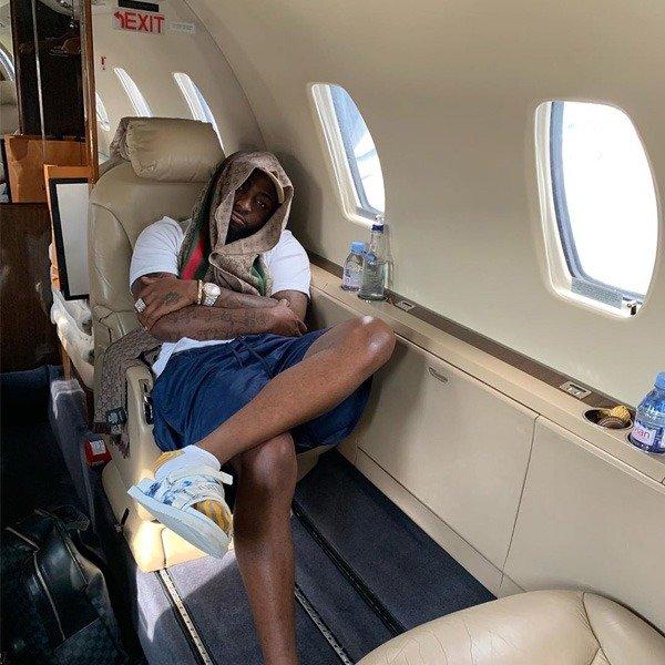 Davido Private Jet