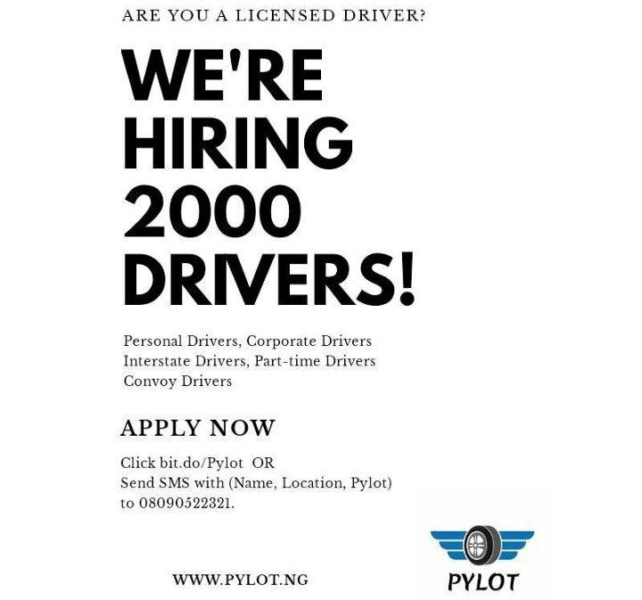 Pylot Hiring Drivers