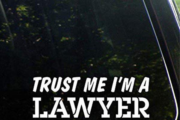 Lawyer bumper stickers