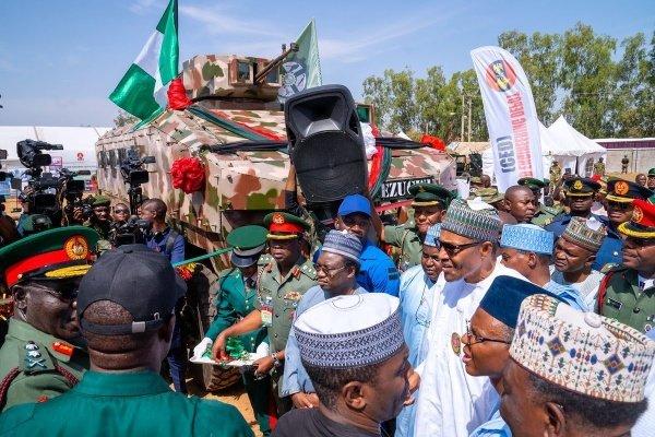 Muhammadu-Buhari-EZUGWU-MRAP-Vehucles