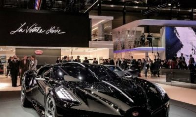 The $18 Million Bugatti La Voiture Noire Is Finally Ready After Two Years - autojosh