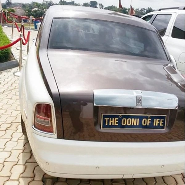 Ooni of Ife And their Rolls Royce