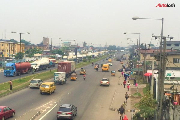 Parked Tankers Are Back To Expressways In Lagos