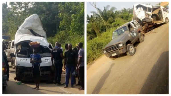 Four Die, 26 Sustain Injuries In Ghastly Accident Involving Top Transit Buses Along Benin-Ore Road