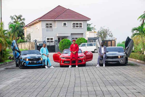 Yomi Casual, Alexx Ekubo, IK Ogbonna Flaunt Luxury Cars (Images)