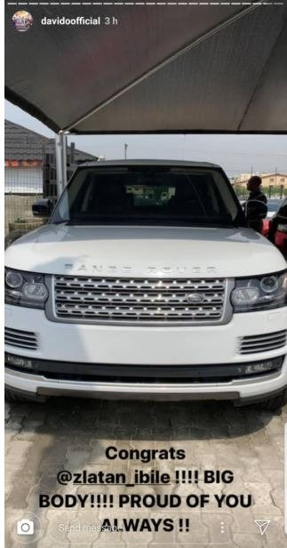 Zlatan Ibile Range Rover - AutoJosh