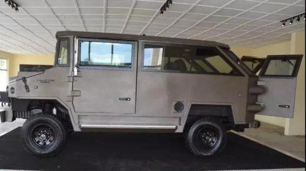 Tekowi: Made-In-Nigeria Armoured Vehicle Designed In Ekiti