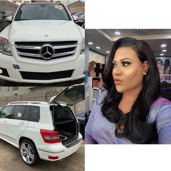 Nigerian celebrities Mercedes Benz