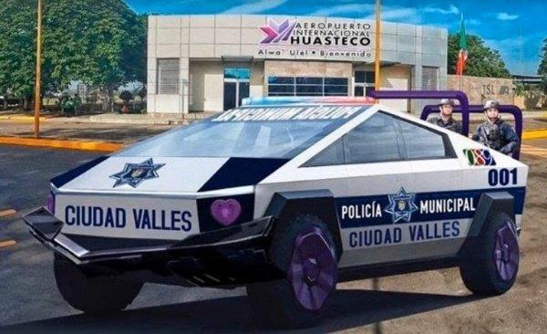 Tesla-Cybertruck-Police-Mexico-Mayor
