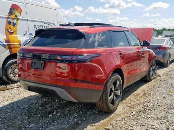 Popular Hair Seller Buys Badly Accidented 2019 Range Rover Velar, Exposed For Lying