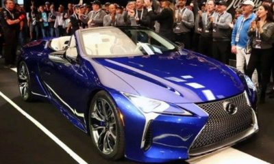 First-ever-Lexus-LC-500-convertible-auction-$2million
