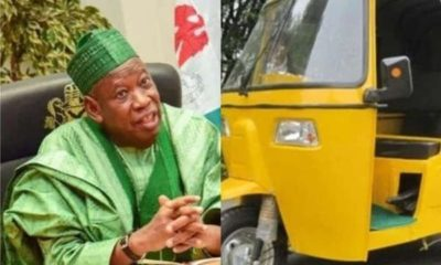 Kano Lifts Ban On Men/Women Passengers Boarding Same Tricycles