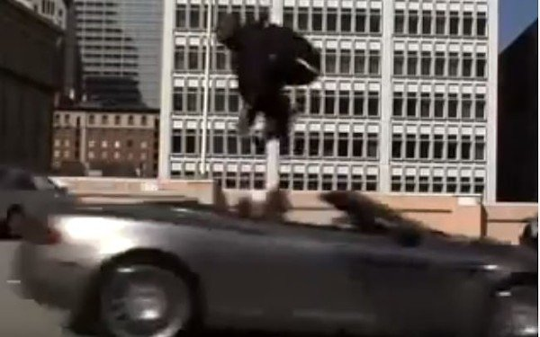 Moment Kobe Bryant Jumped Over Aston Martin In 2008 (Video)