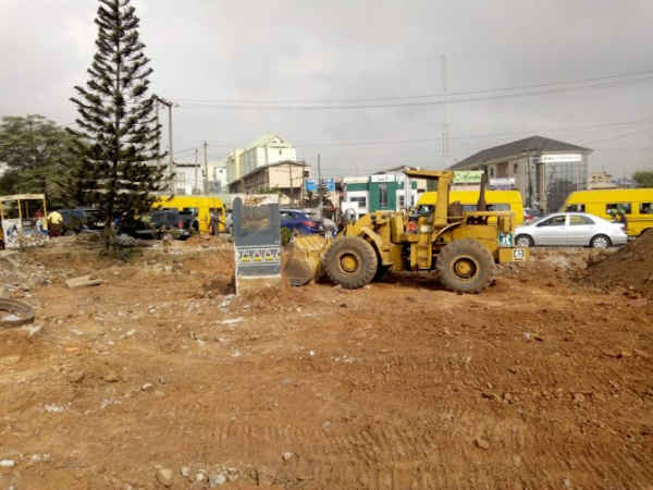 Lagos State Demolishes Allen Roundabout, Relocates Fela Statue
