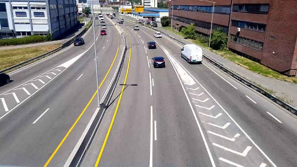 Only One Person Was killed On Oslo's Road Accident In Whole 2019