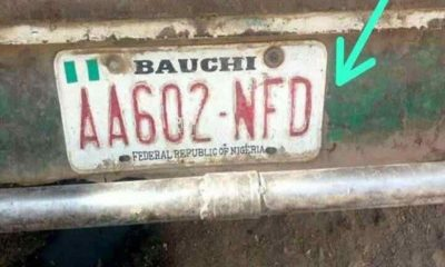 bauchi number plate codes