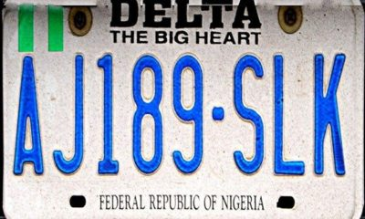 Delta State Plate Number Codes