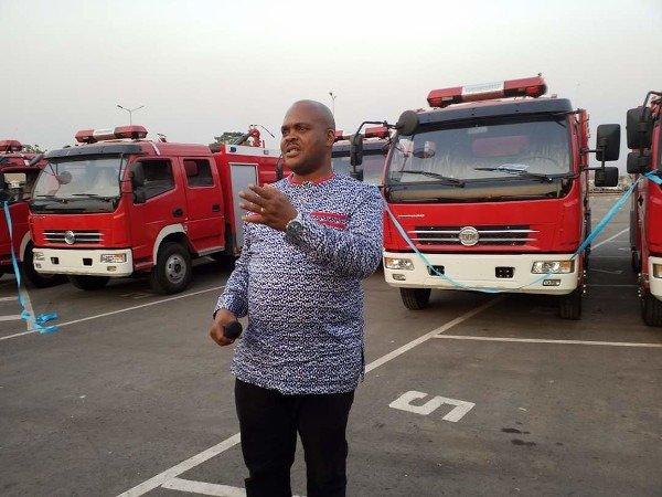 Enugu Fire Fighting Trucks