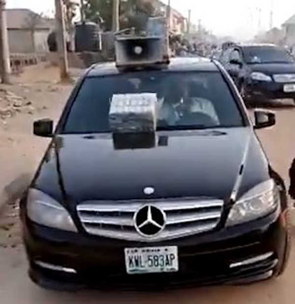 Moment Hausa Man Was Seen Selling 'Herb' Mercedes Benz C-class (Video)