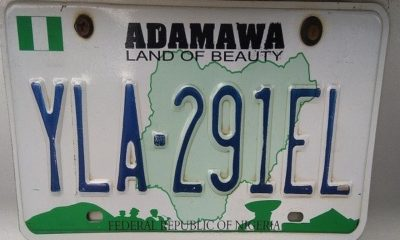 adamawa number plate codes