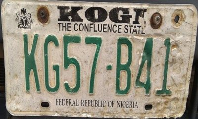 kogi number plate codes
