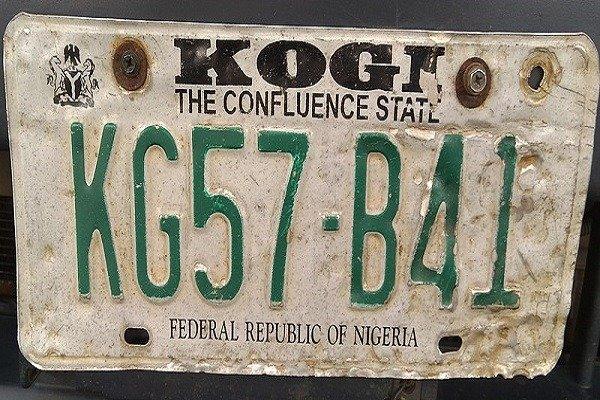 kogi number plate codes