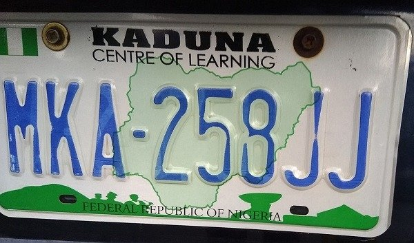kaduna state plate number code