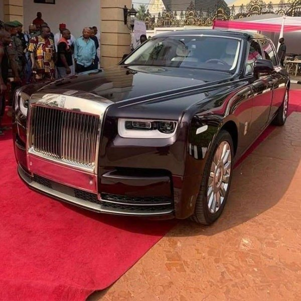 Prince Arthur Eze Rolls Royce Phantom Autojosh
