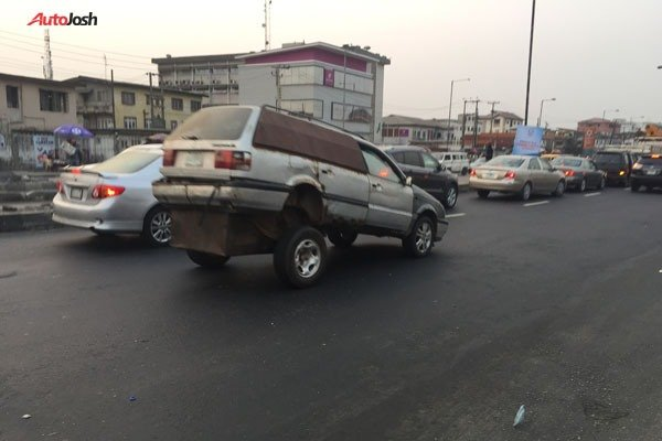 Strange-Looking Car Spotted On The Street Of Lagos Autojosh