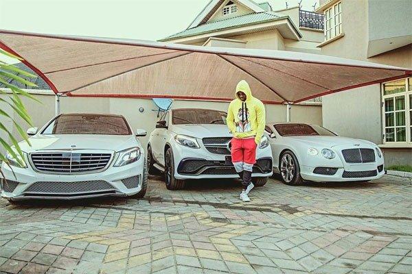 3 Amazing Luxury Cars Owned By Kizz Daniel