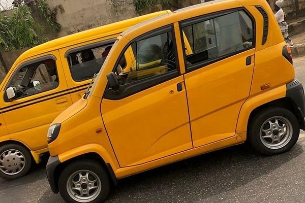 These Tiny Bajaj Qute Spotted in Lagos: Is This The Keke Replacement?