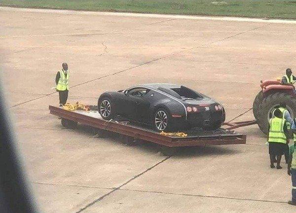 Image result for bugatti spotted in zambia