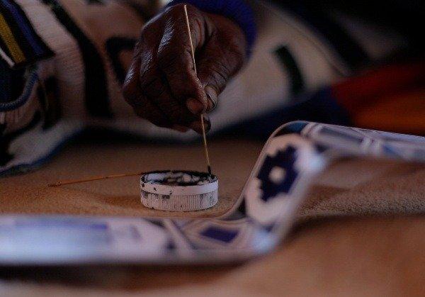 esther-mahlangu-south-african-sa-artist-rolls-royce-phantom