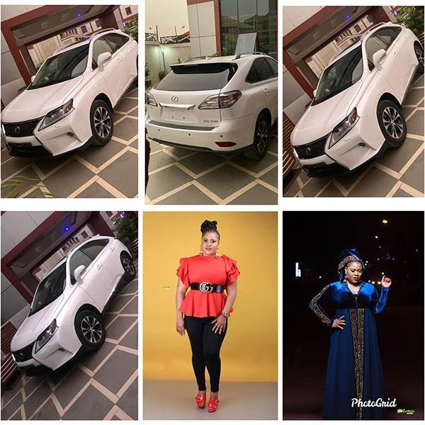 Nollywood Actress, Gift Mbanaso Buys Lexus RX SUV As Birthday Gift