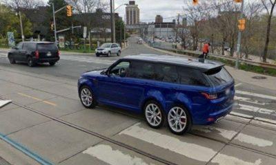 google-maps-street-view-captured-6-wheeled-range-rover-toronto