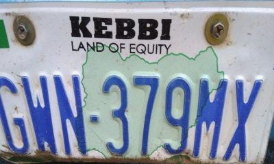 Kebbi number plate codes