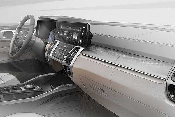 Kia Teases 2021 Sorento SUV (Photos)