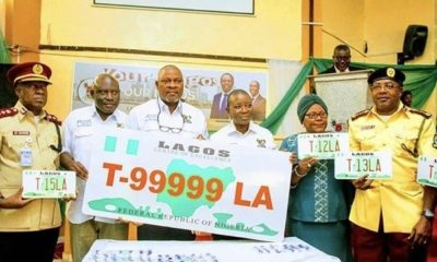 lagos articulated number plate