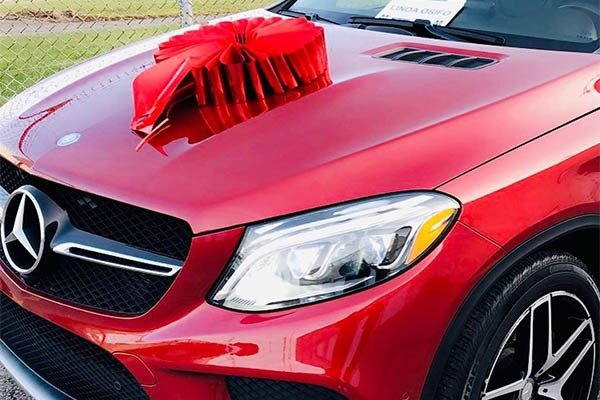 Nollywood Actress Buys Mercedes-Benz GLE Coupe